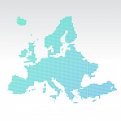 europe dot map